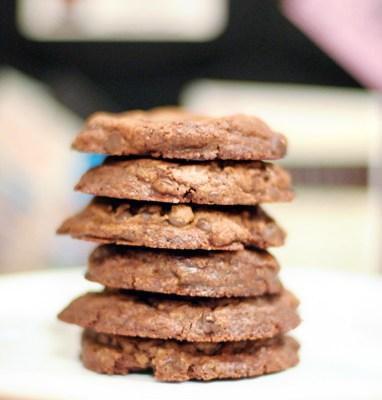 Brownie Batter Chocolate Chip Cookies