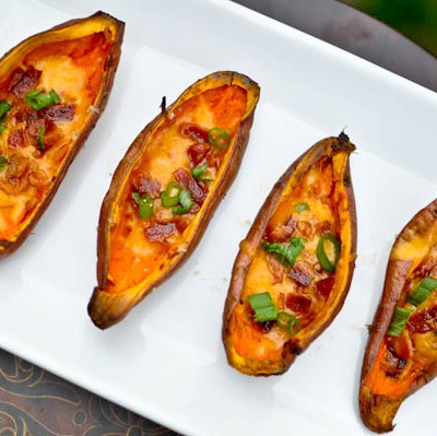 Guest Post: Sweet Potato Skins