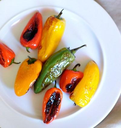 Roasted Pepper Pesto Potato Salad