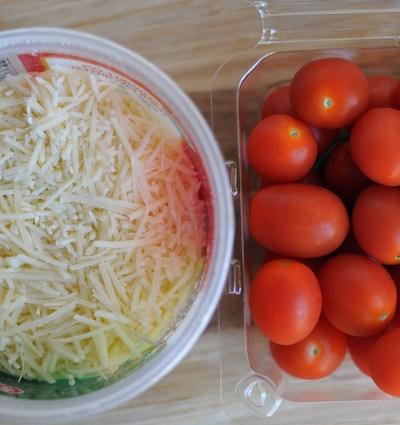 Parmesan Wrapped Tomato Bites