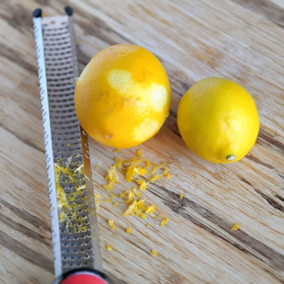 Blueberry Meyer Lemon Muffins