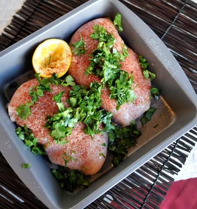 Lemon-Chili Marinated Chicken