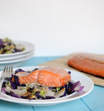 Asian Marinated Sock-Eye Salmon