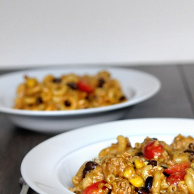 Blog Love:  Chicken Taco Pasta