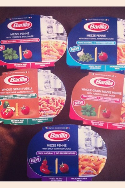 Barilla Microwaveable Meals: My Moving Lifesaver