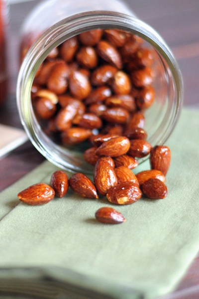 Sriracha and Brown Sugar Almonds