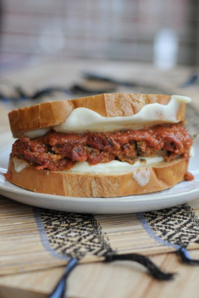 My Ultimate Meatball Sandwich