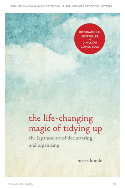 A Year Later: Acting on The Life-Changing Magic of Tidying Up