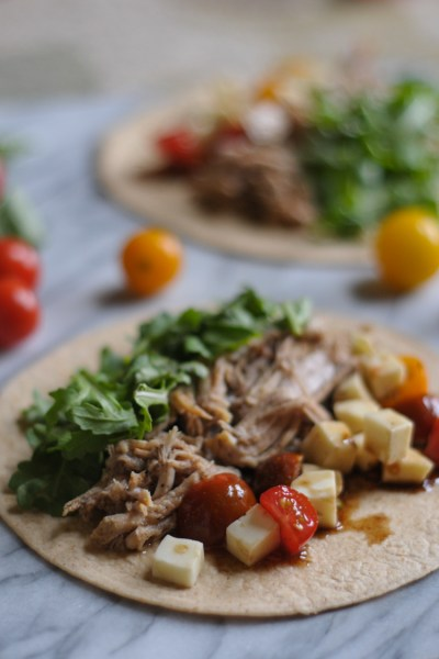 Italian Pulled Pork Tacos