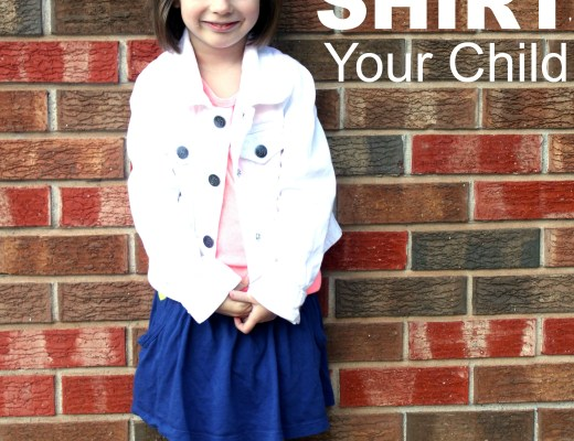 red shirting a child
