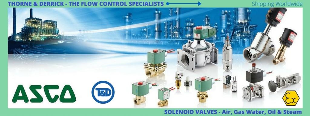 ASCO Valves, ASCO Solenoid Valves, ATEX SIL 3 Solenoid Valve ASCO