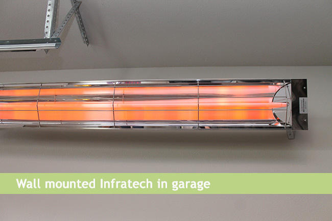 Radiant Infrared Deck and Patio Heating Heating Green