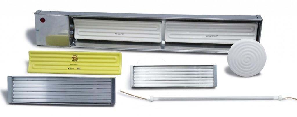 Infrared Heating Elements Ceramic Quartz Heatrod