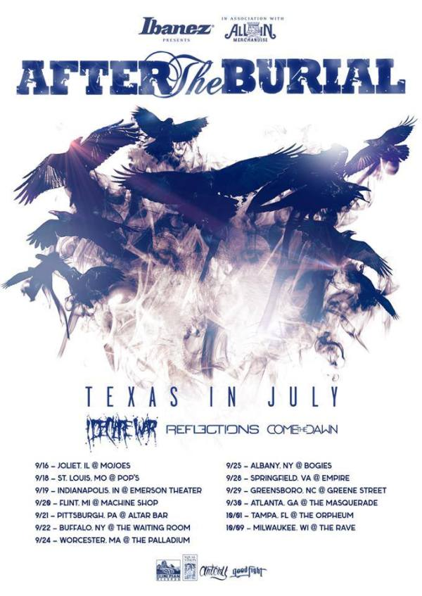 After the Burial, I Declare War, Reflection Tour