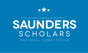 Saunders Scholars National Competition Logo