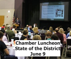 June 9 Luncheon - State of the District