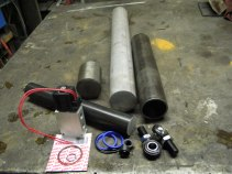 The raw materials for making an air spring