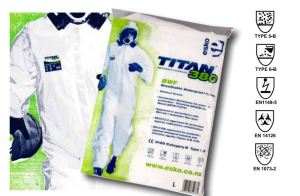 Titan 380 Disposable Coveralls - Category III Type 5,6