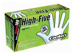 High Five Latex Gloves 100pc/box
