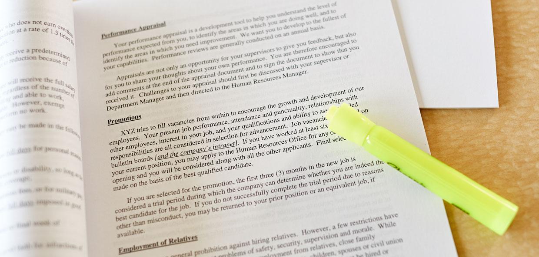 Hawaii Employers Council - Employee Handbook Review  Printing