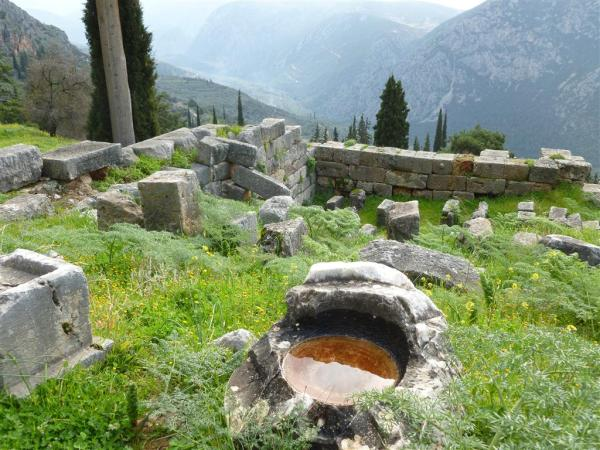 Near the Stoa of Attolos - Delphi 2013 (2) (Medium)