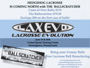Lacrosse Ball Refurbisher at the LaxEvo Games