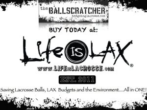 LifeisLax Lacrosse Ball Degreaser
