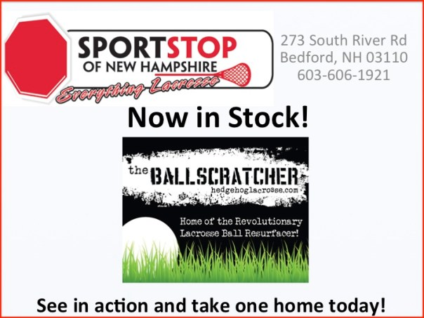 the Ballscratcher 2.0 at SportStop of New Hampshire