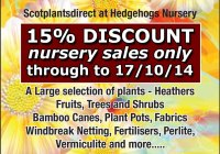 Big End Of Season sale extended to 17/10/14