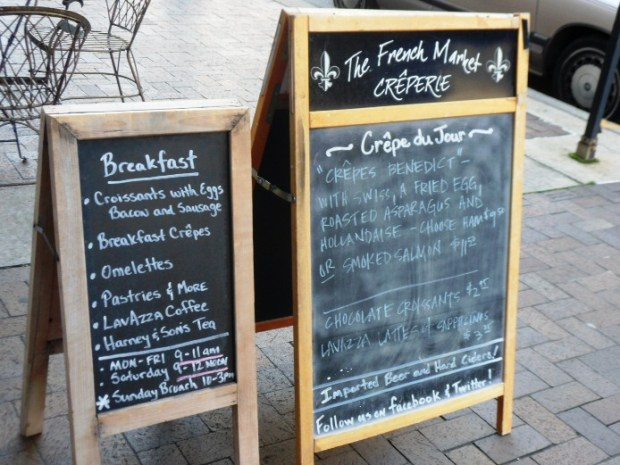Frenchmarket chalkboards