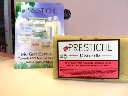 March Glossybox Prestiche Essential Oil Bar Soap