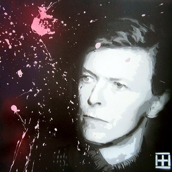 Stencil David Bowie