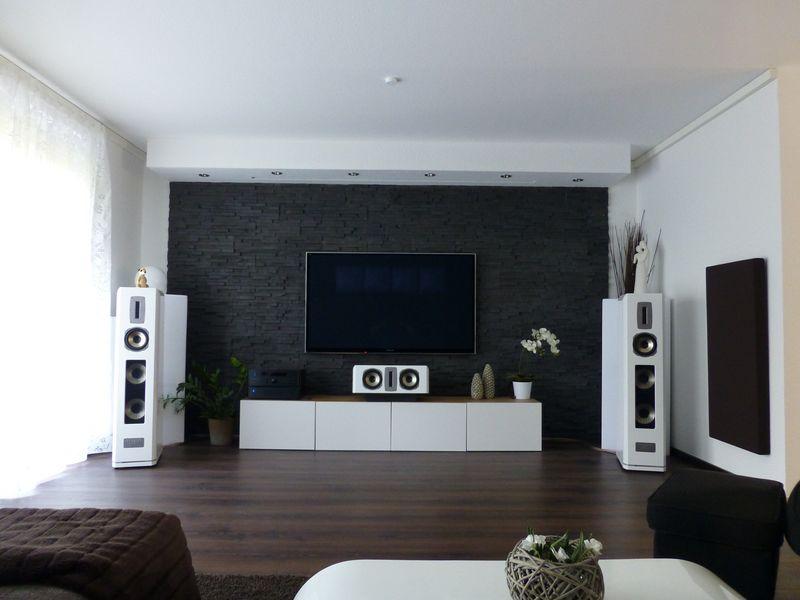 Datoonz u003d Heimkino Lautsprecher Wand ~ Várias idéias de design - heimkino wohnzimmer ideen