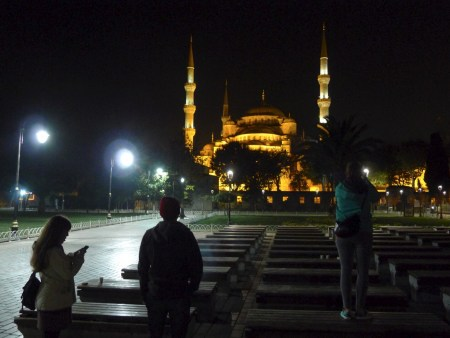Who am I kidding; after I finished the blog post at 11:45 we still went out to see the Blue Mosque, and Hagia Sophia, at night...