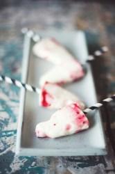 Vaniljpinne med hallon