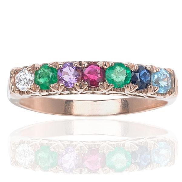 SOLD*** Timeless Rose Gold DEAREST ring - Helen Badge Jewellery