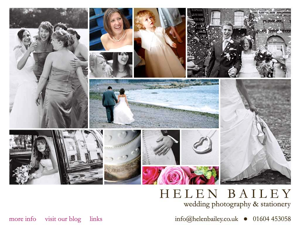Helen Bailey Northampton Wedding Graphy Stationery
