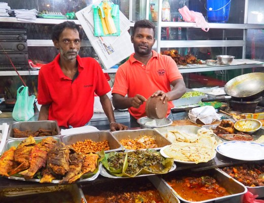 Street food in the Pettah, Colombo, Sri Lanka
