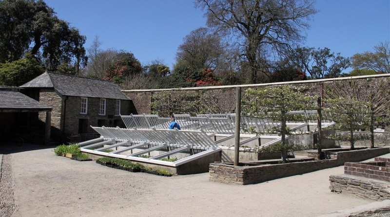 Large Of Walled Vegetable Garden