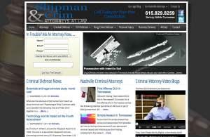 attorney web design Nashville