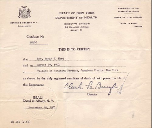Genealogy Research What\u0027s on a Death Certificate?