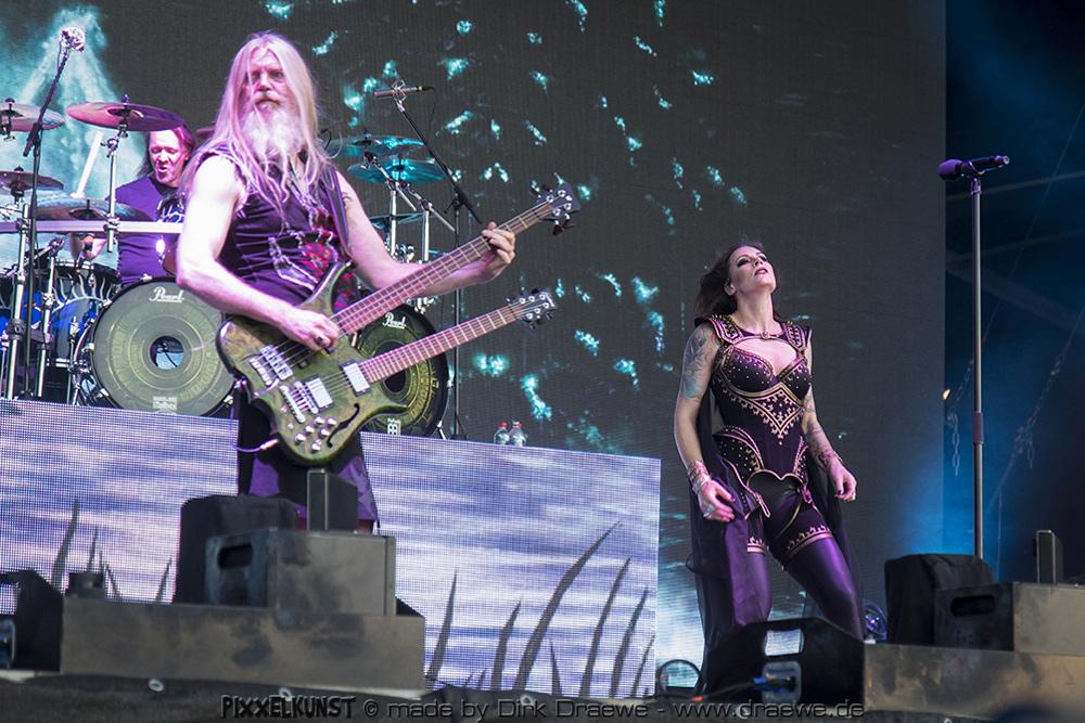 03082018 Nightwish Live Wacken 2018 Hellfire Magazin