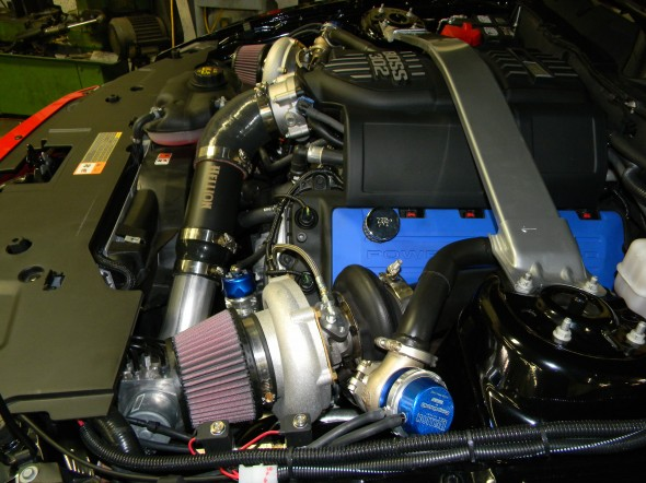 Hellion 2012-2013 Ford Mustang Boss 302 Twin Turbo System - Hellion