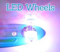 LED Bangerz Longboard Rollen aqua blau 70mm - Roll fast ...