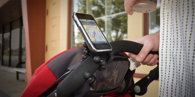 gm2 stroller new mh Joby Gorillamobile 3G   iPhone case and stand