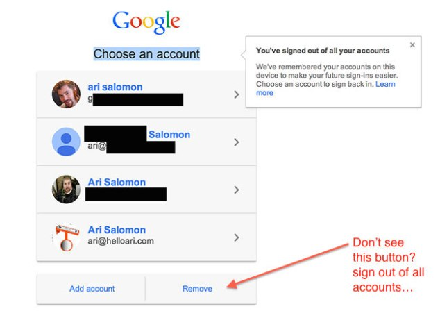 google sign in remove button missing 634x484 How to remove a Google account from Choose an account page list