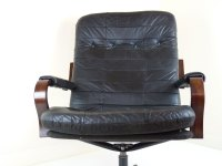 Patchwork Leather Chairs-4652 | mid century furniture ...
