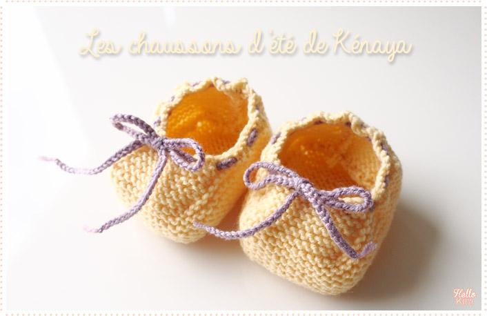 Chaussons-d-ete_tricot-layette_jaune_1