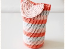 <span>Crochet</span> A pouch for my lens (French only)