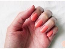 <span>Manucure</span> Le rose-corail